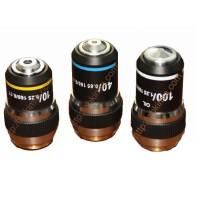 Lensa Objektif 100X Mikroskop Binokular XSZ