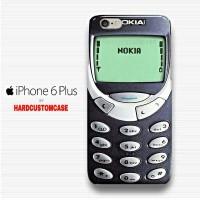 Nokia 3310 Old Phone iPhone 6 Plus - 6s Plus Custom Hard Case