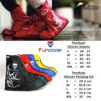Jas Hujan Sepatu Funcover - Khusus Dropship