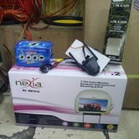 paket Headrest monitor , kamera mundur plus antena TV booster