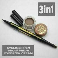 Jual Landbis 3IN1 Eyebrow Gel + BRUSH + EYELINER 100% original Murah