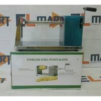 Stainless steel potato slicer/pengupas kentang/tornado potato slicer