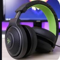Jual Razer Kraken Pro 2015 - Analog Gaming Headset (Black / Green) Murah