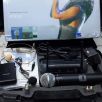 harga Mic Wireless Shure Pgx 242 ( Pegang + Clip On + Headset ) Tokopedia.com