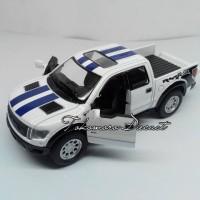 harga Diecast miniatur mobil ford pick up bak terbuka warna putih bergaris Tokopedia.com