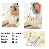 Tas Import Tote Chanel Putih