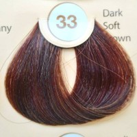 REVLON COLORSILK NO33 DARK SOFT BROWN HAIR COLOR CAT RAMBUT