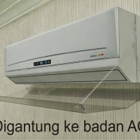 Reflector ac acrylic / angin ac ( ukuran 2 pk )