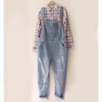 harga jumpsuit overall jeans boyfriend / baju kodok Tokopedia.com
