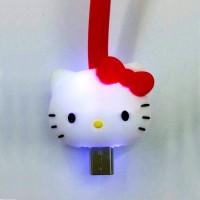 Kabel Data / Charger LED micro USB(Samsung, Blackberry, Lenovo, Oppo)