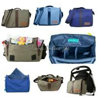 Baby Go Inc - Kiwi Messenger Diaper Bag / Baby Bag / Tas Bayi