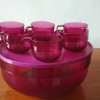 Tupperware punch bowl