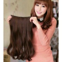 Hair Clip Big Layer 50 cm Wave / hairclip 50cm Wavy
