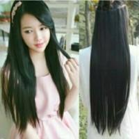 Jual Hair Clip Big Layer 75 cm Lurus Smoothing / hairclip 75cm Straight Murah