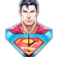 Jam Dinding Keren Superman Custom Design