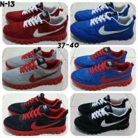 Sepatu Olahraga NIKE 37-40 Free Sport Shoes Senam Fitness Kets Running