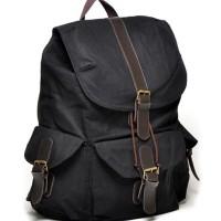Jual Tas Ransel Casual - Bonjour Bag Adrien - Black Murah