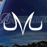 (stiker) sticker mobil dragon ball z vegeta majin logo