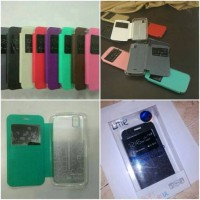 Cover Case Evercoss Android One X A65 Flip Case Ume