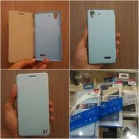 Cover Case Oppo R7 Lite Oppo R7f Flip Case Huamin EJ Line
