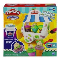 Jual Cetakan PlayDoh Ice Cream Sundee Cart Play Doh ORIGINAL (BUKAN FunDoh) Murah