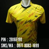 harga Kaos Badminton / Bulutangkis Yonex #y17 Kuning Tokopedia.com