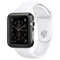 Spigen Thin Fit Apple Watch 42MM - Smooth Black