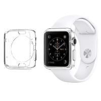 Spigen Liquid Crystal for Apple Watch 42MM  Crystal Clear
