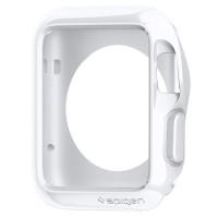 Spigen Slim Armor Apple Watch 42MM (+2 Film) - Satin Silver