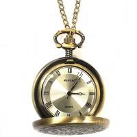 Pocket Watch Necklace / Kalung Jam Saku Vintage Autumn