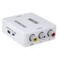 miniBox Hdmi to AV Rca (support DVR - 720p HD)