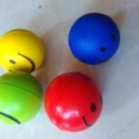 Bola Smile Terapi Stroke Latihan tangan Menggenggam Lentur karet