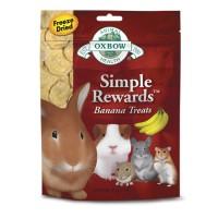 harga Oxbow Simple Rewards Banana Treats 30gr Snack Kelinci Marmut Hamster Tokopedia.com