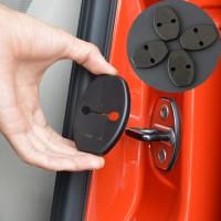 Car Door Lock Cover untuk Mobil VW Volkswagen Polo Golf Touran Tiguan