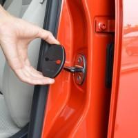Car Door Lock Cover untuk Mobil AUDI A1 A3 A4 A5 A7 A8 Q3 Q5 Q7