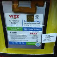 Baterai Battery Lenovo Vibe Z/k910 Tipe Bl216 Dobelpower Vizz 4000mah