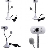 Webcam USB Mic Microphone Laptop Notebook VideoChating Infra Red Led