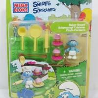 Mega Bloks - The Smurfs - Baker Smurf