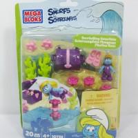 Mega Bloks - The Smurfs - Snorkelling Smurfette