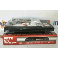 Mito DVD player 677/DVD/VCD/MP3