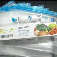 Jual Vacuum bag / plastik kedap / vacuum food sayur buah makanan Murah
