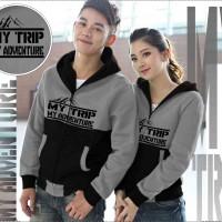harga jaket / jacket couple murah my trip Tokopedia.com