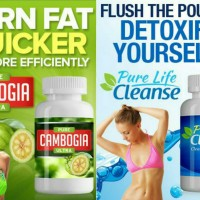 pure cambogia ultra + pure life cleanse (stock banyak)