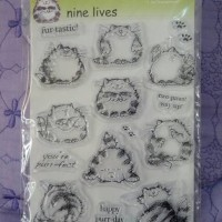 Clear Stamps Cats by Penny Black