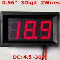 harga Voltmeter Digital Mini With Frame Dua Kabel Tokopedia.com