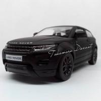 range rover evoque diecast miniatur black matte doff hitam tokomoro