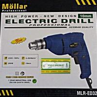 Mesin Bor MOLLAR MLR-ED320 10mm Putaran Bolak Balik