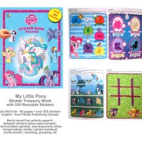 Sticker Book Treasury MY LITTLE PONY with Over 350 Reusable Sticker