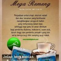 harga Kopi Jamu Mega Remeng Sin Obat Herbal Alami Netralisir Kafein Terapi Tokopedia.com