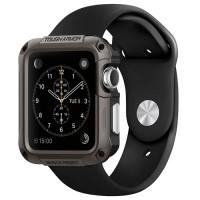 Tough Armor Case for Apple Watch 42MM - Gunmetala